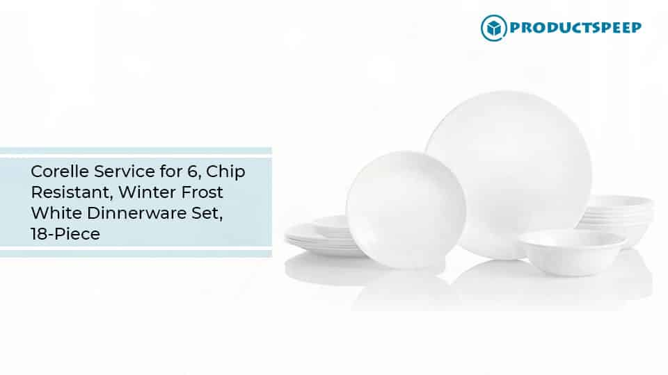 Corelle Winter Frost White Dinnerware Set