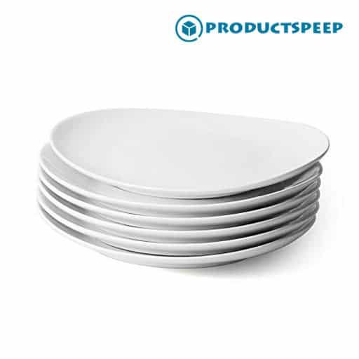 Best White dinner plate sets - Sweese Porcelain Dinner Plates set
