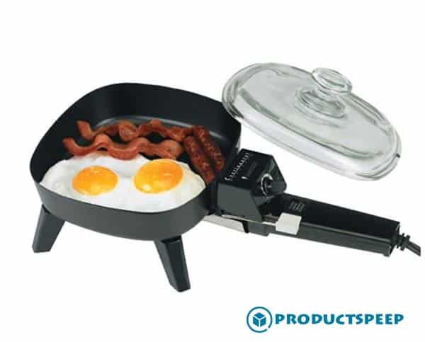 7-Inch Non-Stick Best Electric Skillet For Personal Use