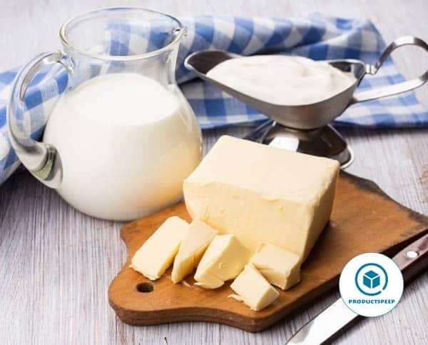 Butter and Cream -  Fatty food for keto diet
