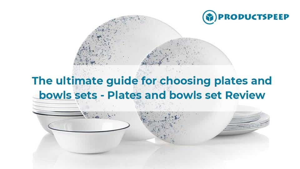 Plates and bowls set