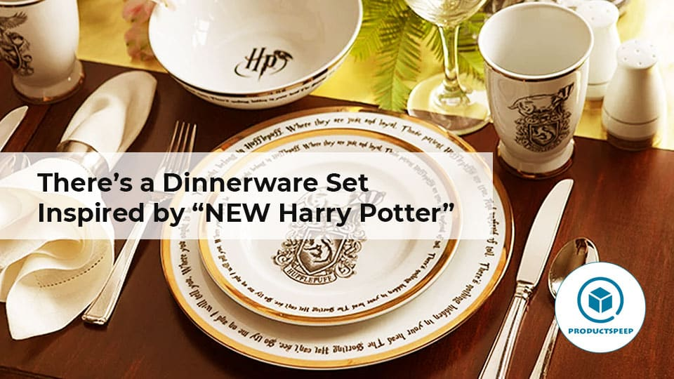 "There's a Dinnerware Set Inspired by ""NEW Harry Potter"""